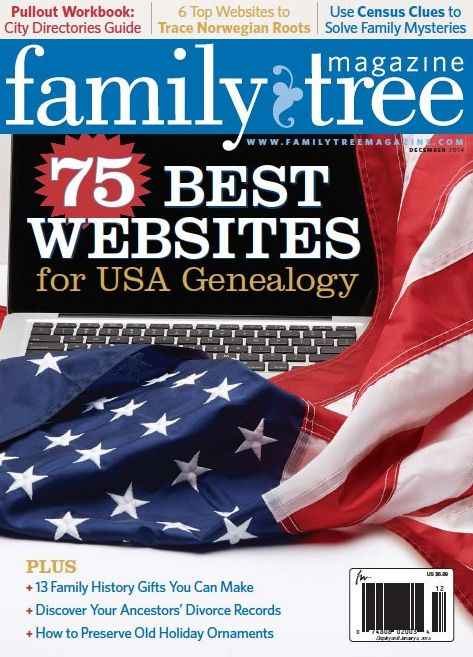 Need to check this out! 75 Best Genealogy Websites for USA Research in 2014 - Family Tree Magazine