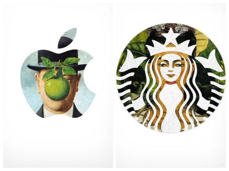 Le projet amusant d'une graphiste qui détourne les logos de grandes marques