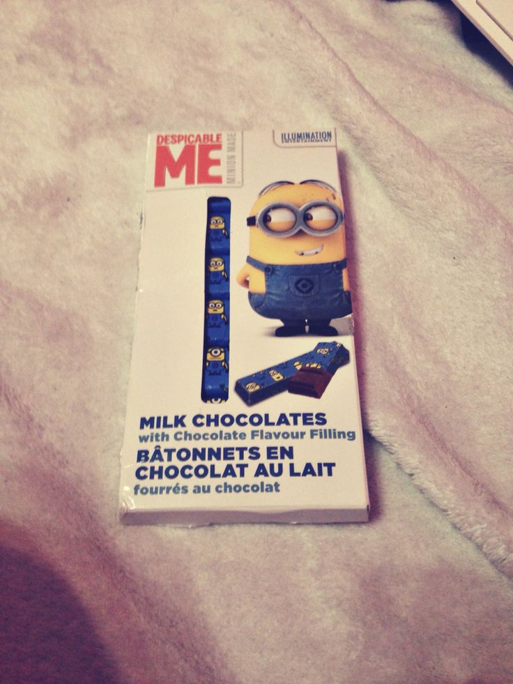 Despicable me - minions chocolate ❤️❤️