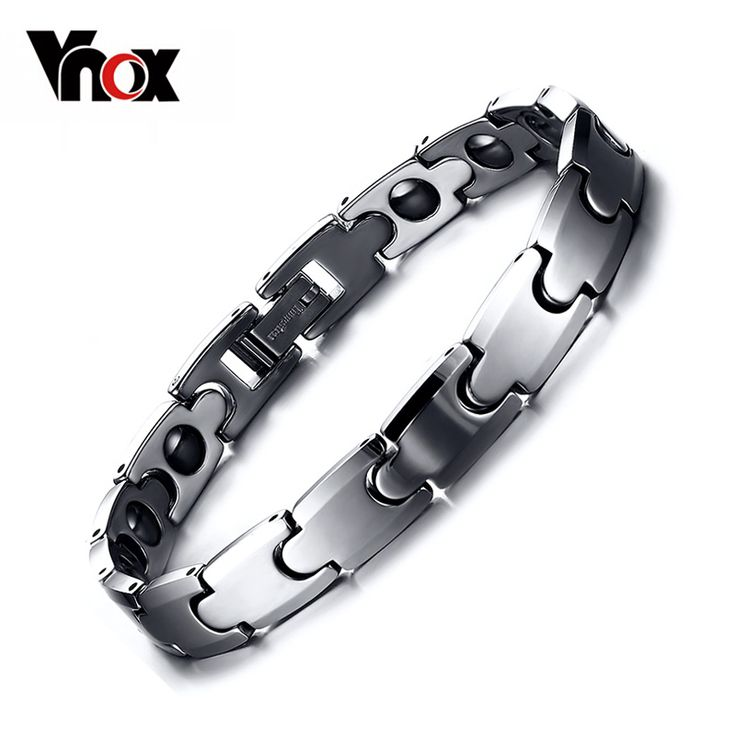 Newest Tungsten Carbide Hematite Bracelets Hematite Health Care Couples Jewelry 18cm / 21cm Just look, that`s outstanding! #Jewelry #shop #beauty #Woman's fashion #Products