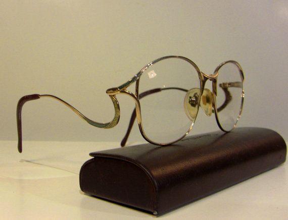 Optos Luigi Colani Designer Eye Glasses Frame Extravagant Eyewear As New…