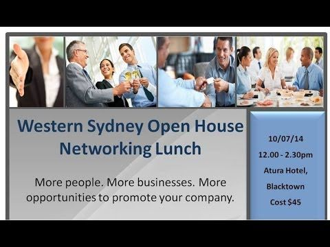 Western Sydney Open House Networking, July 10, 2014 | powercreative.com.au