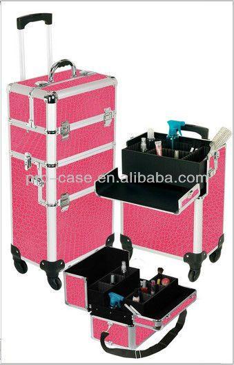 profissional rosa gator gator maleta de maquiagem - portuguese.alibaba.com