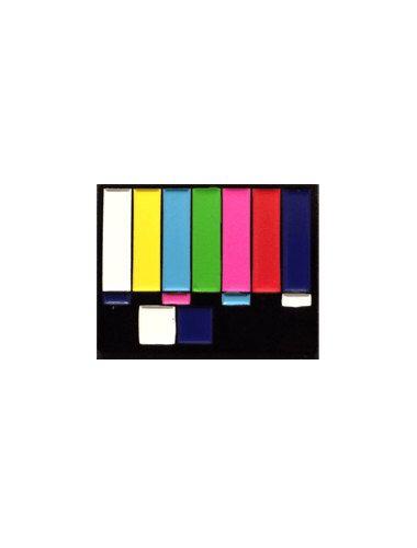 Amazing TV Test Card Color Bars Enamel Pin by ShopNightcrawler on Etsy https