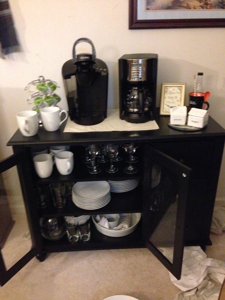 26 best images about coffee bar on pinterest. Black Bedroom Furniture Sets. Home Design Ideas