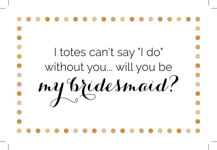 """Check out our latest blog post on six ways to pop-the-question: """"Will you be my bridesmaid?"""" in a way they will never forget!"""
