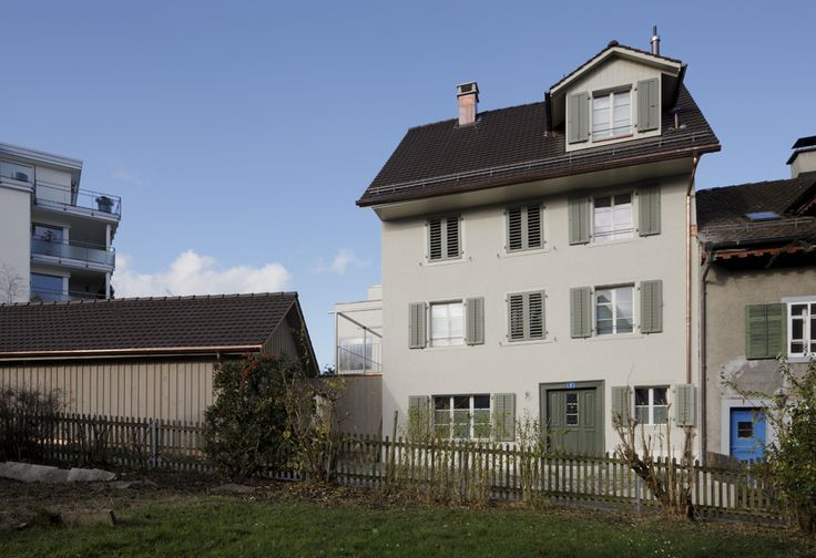 Historisches Haus Bergwerkstrasse Horgen - Aussenansicht