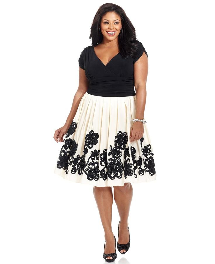 17 Best Ideas About Plus Size Short Dresses On Pinterest