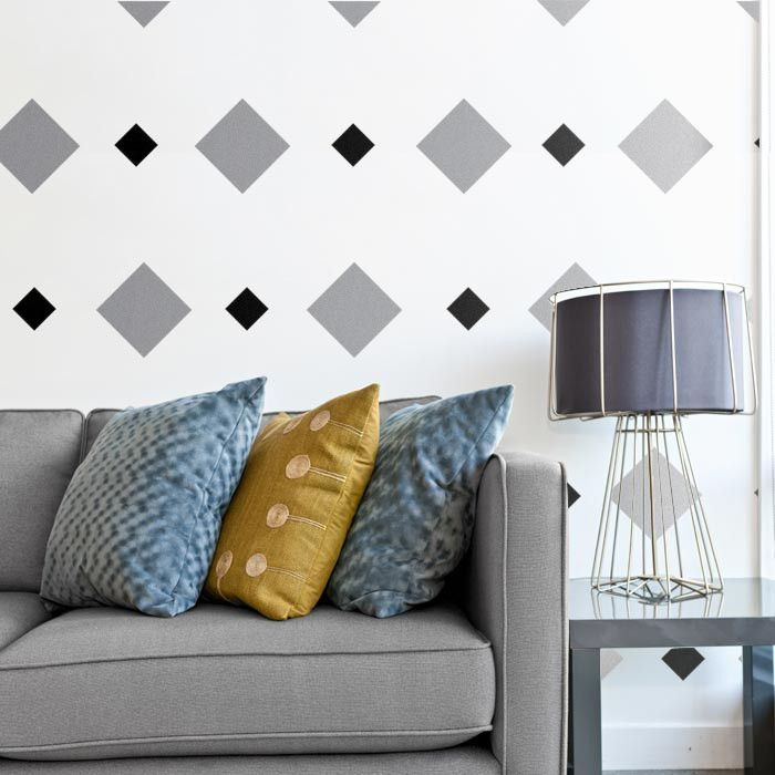 Stars-Single Size-Wall Pattern Decals - Cozy Wall Art