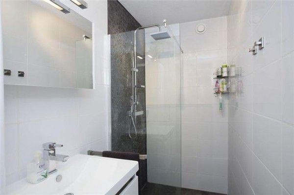 kleine badkamer inloopdouche