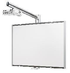 SMS Projector Short Throw Wall Manual (1450 мм)  — 8700 руб. —  SMS Projector Short Throw Wall Manual отличают высокая надежность, современный внешний вид и превосходные  эргономические качества. Монтаж системы занимает минимум времени и требует от установщика наличия лишь базовых технических навыков. Длина вертикальной штанги: 605 мм. Регулировка по вертикали: 500 мм. Высота экрана: 1500 мм (макс.), 1170 мм (мин.). Макс. ширина экрана: без ограничений. Макс. глубина экрана 90 мм.