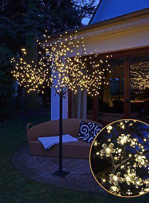 Kirschblütenbaum XXL 600 LED 2,5 m - warmweiß - INNEN + AUßEN - Baum Lichterbaum
