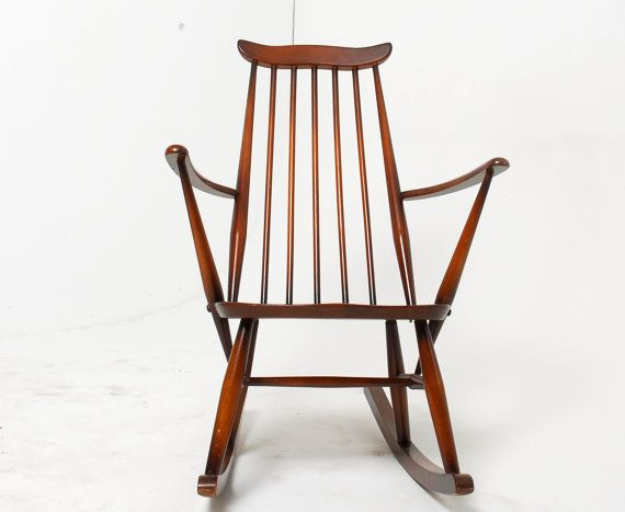 mid century modern rocking chair sale 1