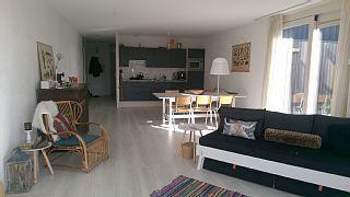 Lux. Wohnung, 4 Pers, 2 Schlafzimmer, Garten, 200mt von Strand, Private ParkplFerienhaus in Groote Keeten  von @homeaway! #vacation #rental #travel #homeaway