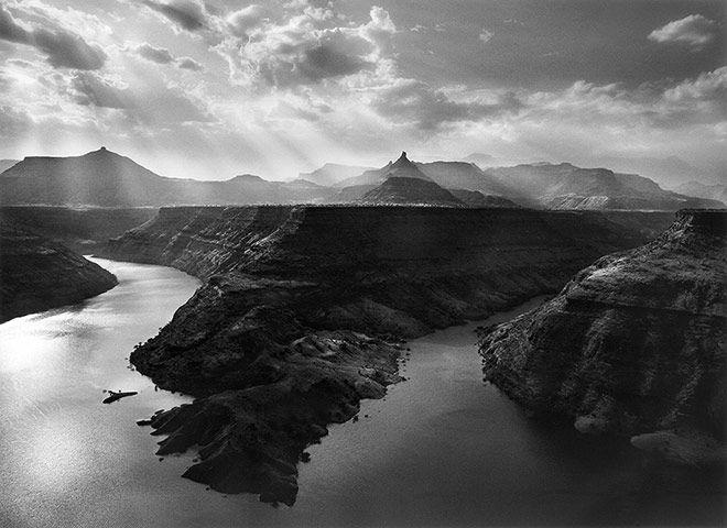 Sebastiao Salgado: A journey through the Old Testament, Tekeze river, northern Ethiopia, 2008