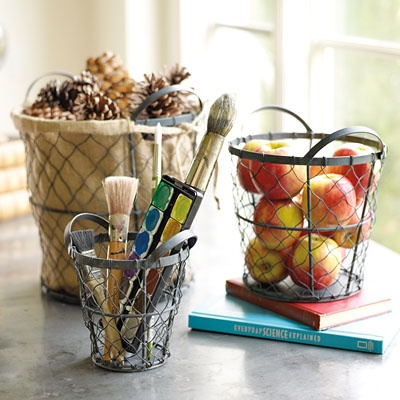 3 Wireweave Basket Trio Yep A Set Of Three 41551 Pg 28 Home Decoratingdecorating