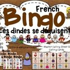 French Turkey Thanksgiving Bingo / Bingo des dindes pour l
