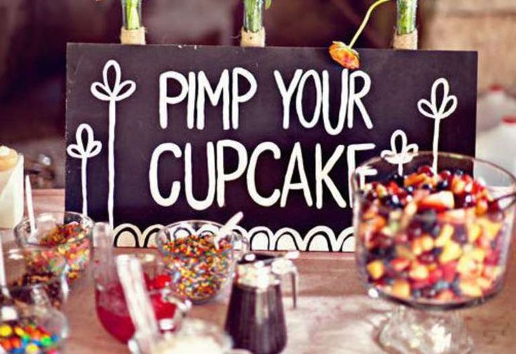 A Pimped Out Cupcake Bar