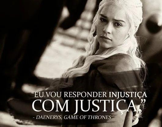 Frase: Game Of Thrones, Daenerys Targaryen (Emilia Clarke). - Net7Art