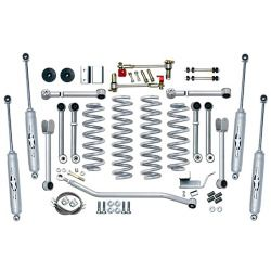 Rubicon Express 4.5 in. Jeep Lift Kit - 1993-1998 Jeep Grand Cherokee ZJ Parts - RE8000T