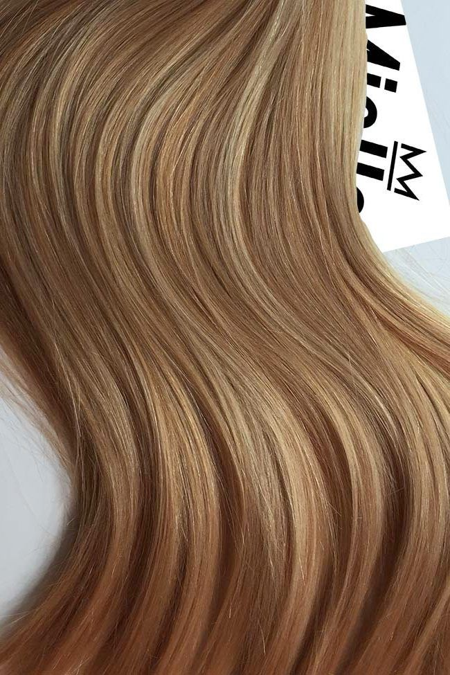 Caramel Blonde Color Swatch