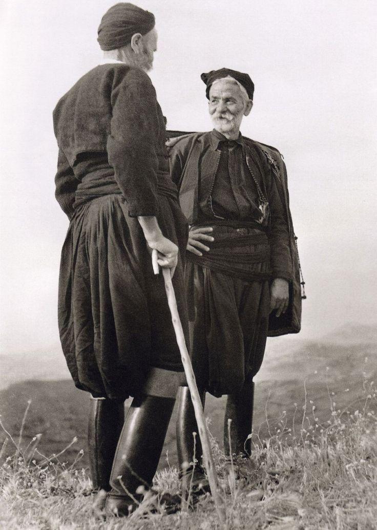 Nelly's Men from Sfakia, Crete, 1939