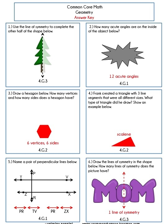 Best Math Riddles Images On   Geometry Worksheets