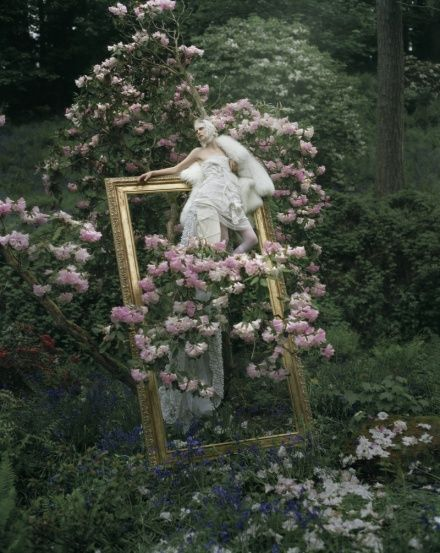 ❀ Flower Maiden Fantasy ❀ women & flowers in art fashion photography - Tim Walker