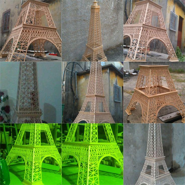 Progresso de torre Eiffel