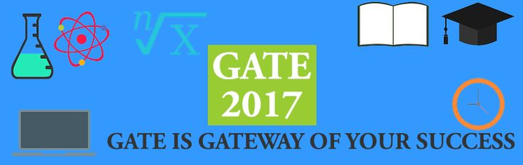 GATE 2017 Registration help, GATE Previous Year Question Paper in all branch, Syllabus for GATE 2017, Recommended Reading material for GATE 2017 :)
