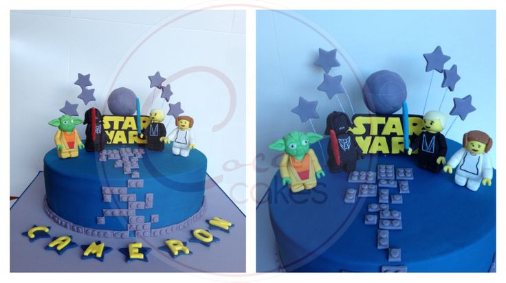 Coca Cakes - Kids Birthday - Star Wars Lego
