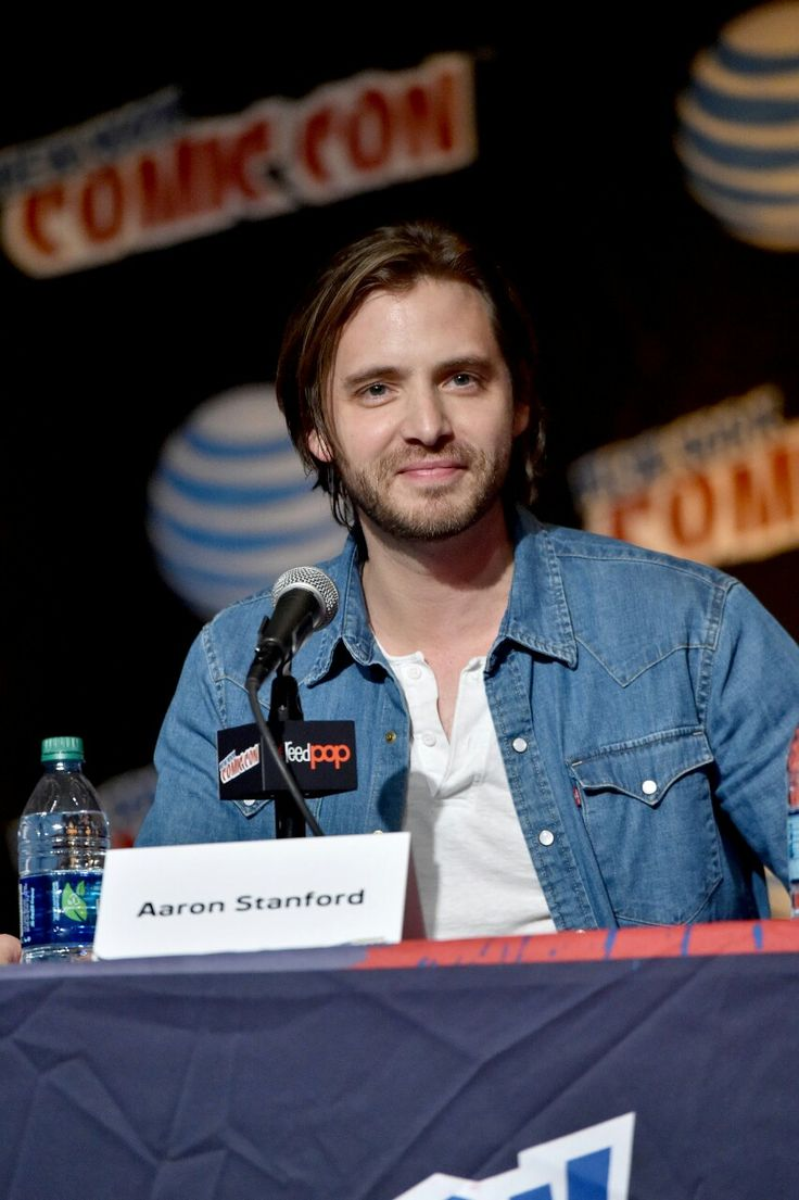 Aaron Stanford at NYComicCon2015