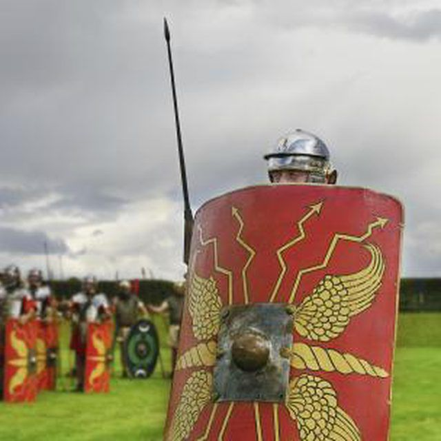 The Roman spear was an integral weapon during wartime.