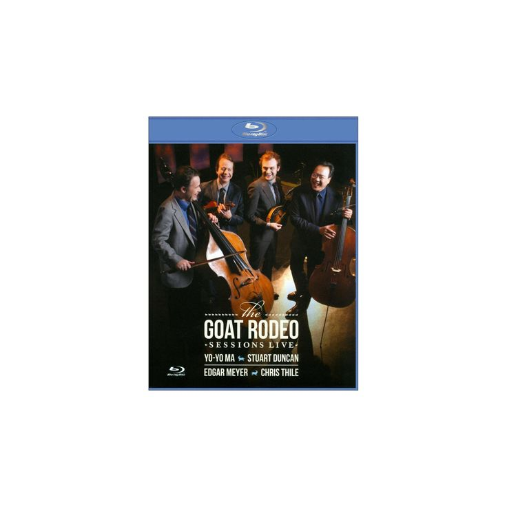 Goat rodeo sessions live (Blu-ray)