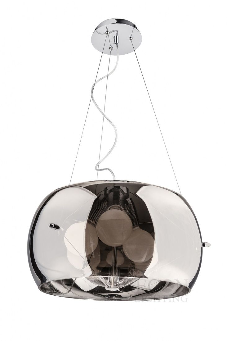 ANDROMEDA MD8607M-CH chrom lampa wisząca