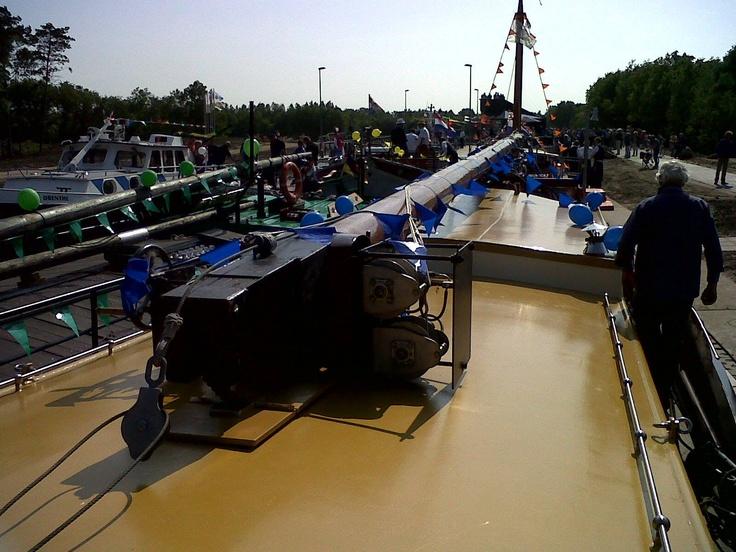 Opening van het nieuwe Koning Willem-Alexanderkanaal