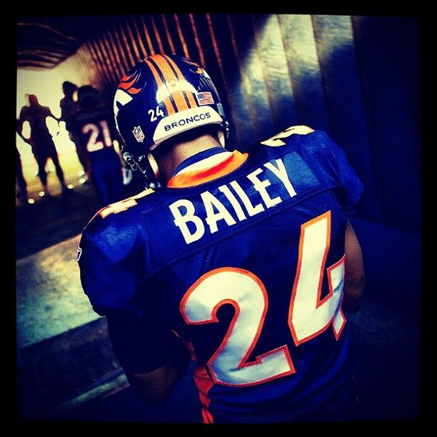 Football season is coming...ready to pull out my Champ Bailey jersey