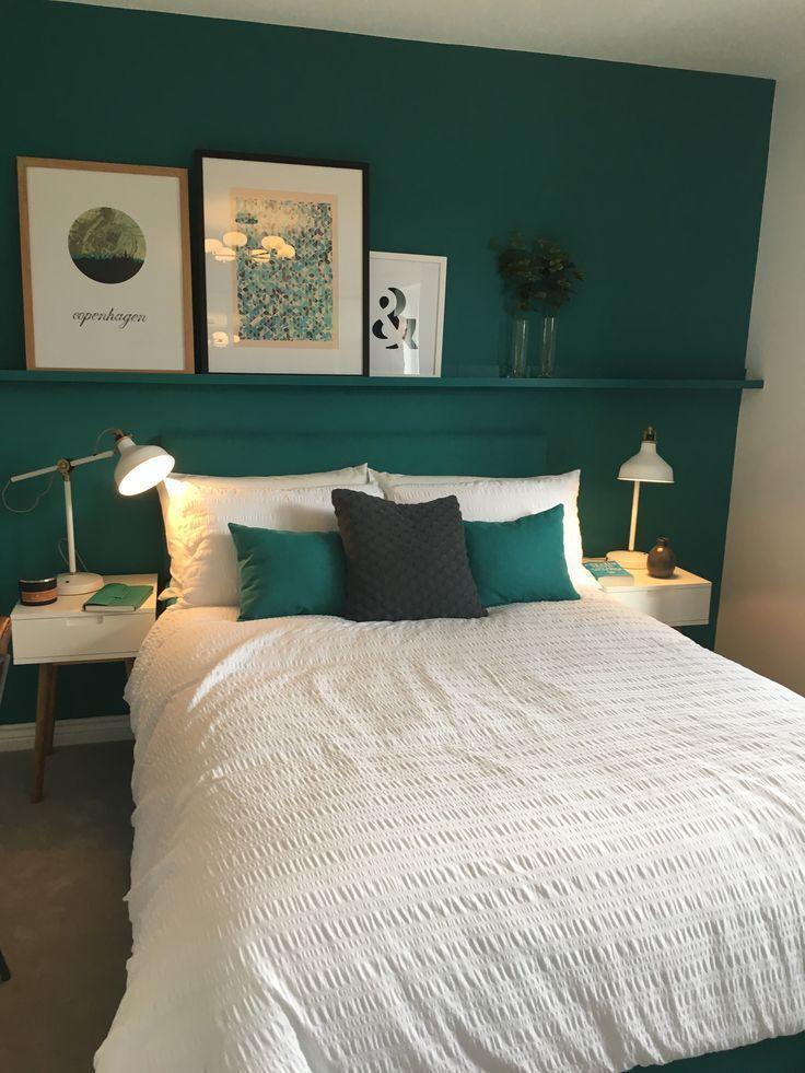 Grune Raumdekoration Schlafzimmer Zum Zimmer Sofa Von