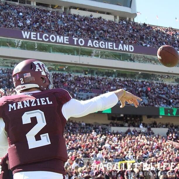"""""""Johnny Football"""" is one of the most creative players that the NCAA has ever seen.  His creativity was responsible for countless breath-taking plays throughout his career."""