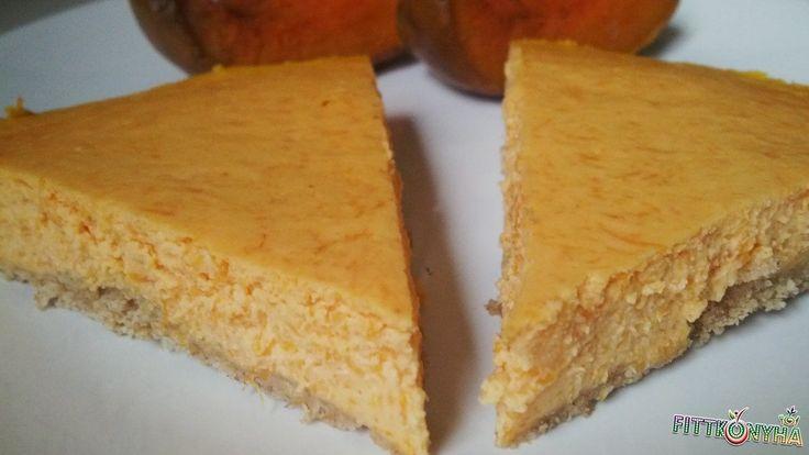 Sütőtökös sajttorta