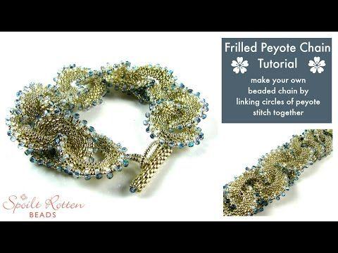 Beaded Chain ~ Seed Bead Tutorials
