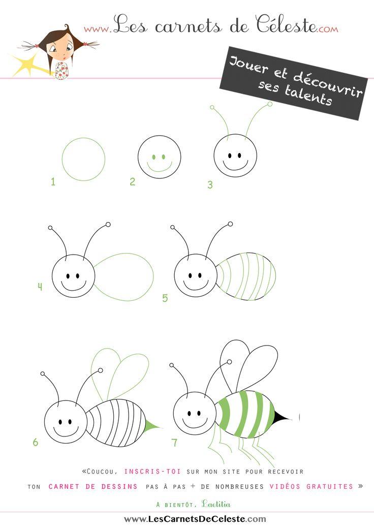 Apprendre à dessiner une abeille en quelques étapes