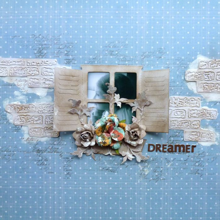 Couture Creations: Dreamer by Cathi O'Neill | #couturecreationsaus #decorativedies #embossingfolders #scrapbooking #nestingdies