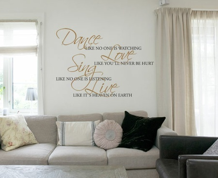 Dance - Wallsticker