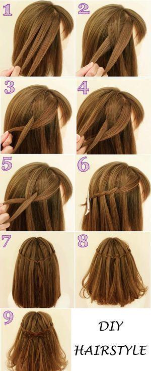 lange Haarmodelle – DIY Haristyle. Sie können es versuchen. – #DIY #es #Haarmod…