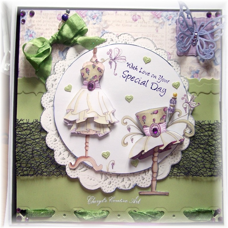 another card made using Katy Sue CD