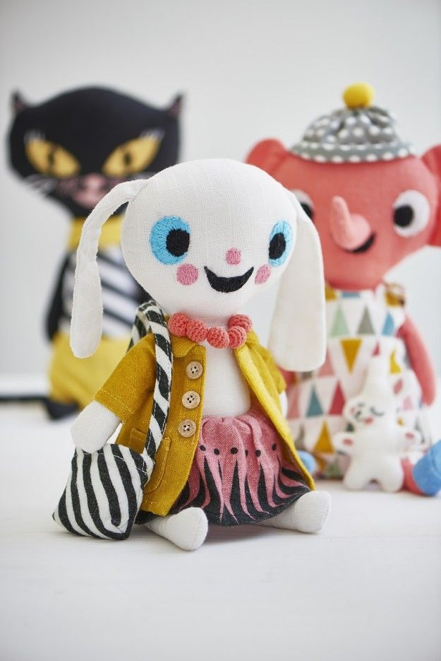 quirky stuffed animals