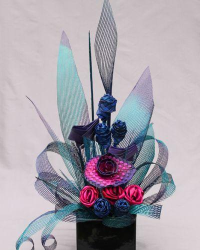 Paua Flax Flower Arrangement
