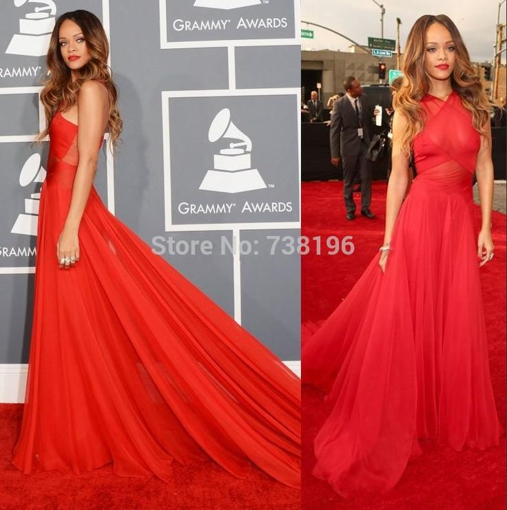 Robes tapis rouge pas cher