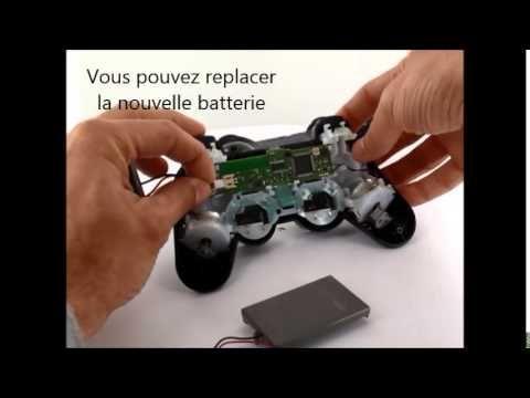 batteries4pro comment remplacer sa batterie de manette ps3 - Manette Ps3 Color